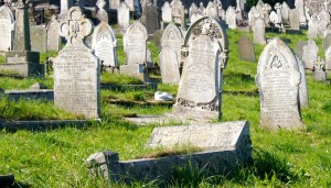 Friedhof in St. Ives, Cornwall